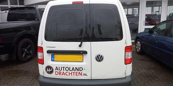 Autoland Drachten JSV-ICT & Reclame VW Caddy Achterkant