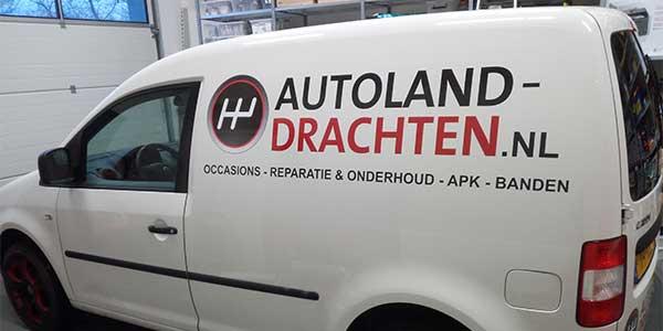 Autoland Drachten JSV-ICT & Reclame VW Caddy Zijkant