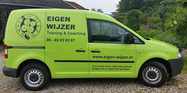Auto Belettering JSV-ICT & Reclame Eigen Wijzer