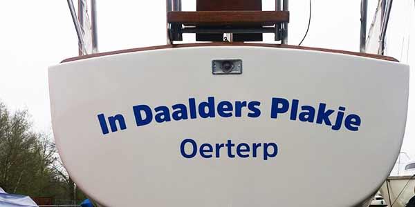 Belettering In Daalders Plakje Oerterp