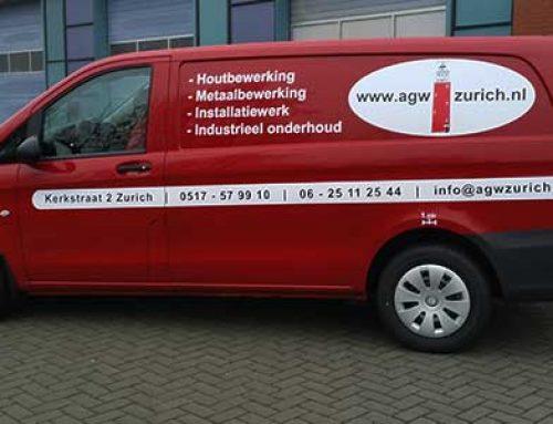 Bedrijfsbus van AGW Zurich