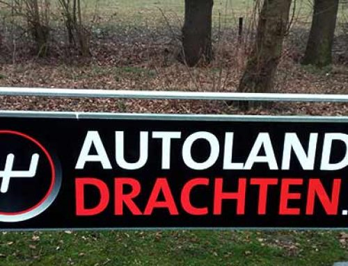 Reclamebord  Autoland Drachten
