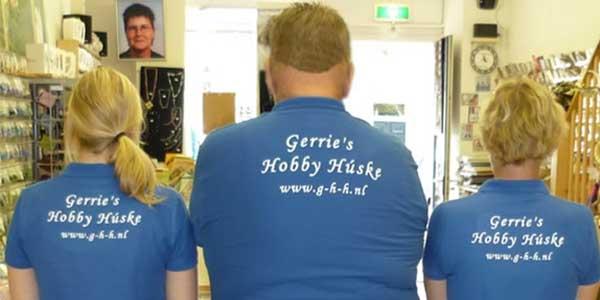 Polo's bedrukking Gerrie Hobby Hûske