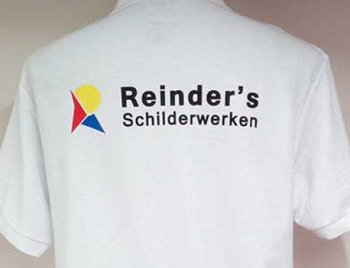 Polo bedrukking Reinder's Schilderwerken