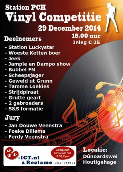 Poster PCH Houtigehage feestavond