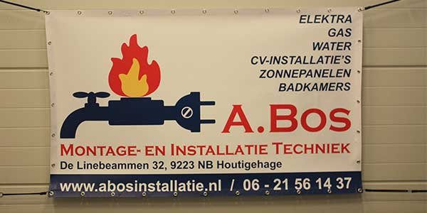 Spandoek A.Bos Montage en Instalatie Techniek Houtigehage