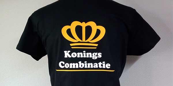 T-shirt Koningscombinatie