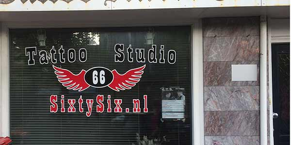 Tattooshop sixtysix