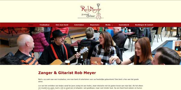 Webdesign Bolsward Rob Meyer
