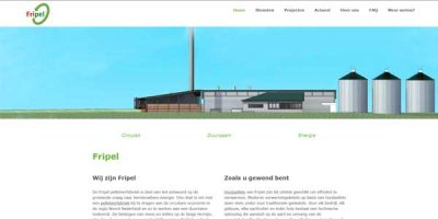 Website Dronrijp Fripel