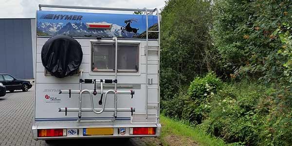 Camper Reclame Drachten achterkant