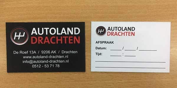 Enveloppen en Asprakenkaartjes Autoland Drachten