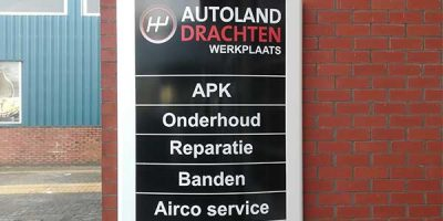 Autoland Drachten Sticker