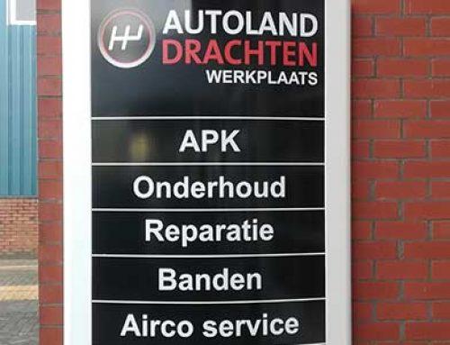 Sticker Autoland Drachten