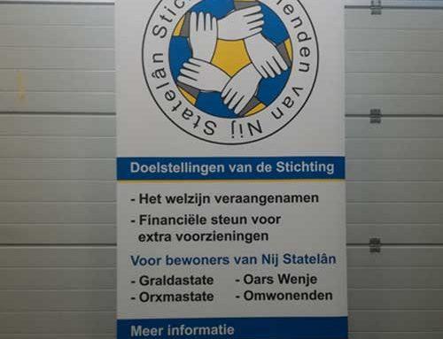 Banner Stichting Vrienden van Nij Statelân Menaam