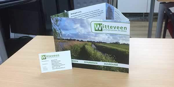 Visitekaartjes en flyers Witteveen advies