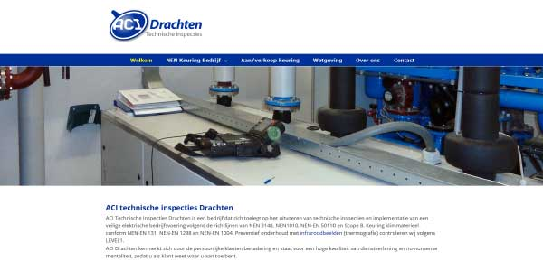Website ACI Drachten