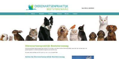 Webdesign Dierenartsenpraktijk Beetsterzwaag
