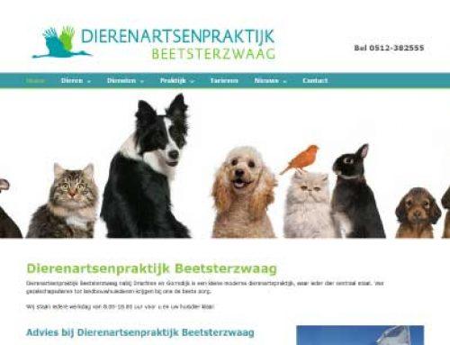 Webdesign – Dierenartsenpraktijk Beetsterzwaag