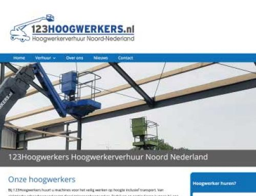 Webdesign 123Hoogwerkers Bakkeveen