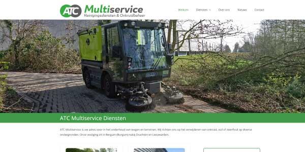 Webdesign ATC Multiservice Burgum